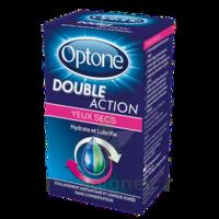 Optone Double Action Solution Oculaire Yeux Secs Fl/10ml à MULHOUSE