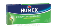 Humex Conjonctivite Allergique 2 %, Collyre En Solution En Récipient Unidose à MULHOUSE