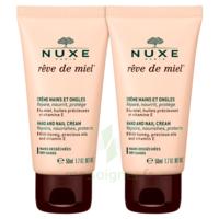 Rêve De Miel® Crème Mains Et Ongles 2*50ml à MULHOUSE