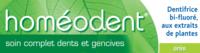 Boiron Homéodent Soin Complet Dents Et Gencives Pâte Dentifrice Anis T/75ml à MULHOUSE