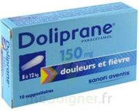 DOLIPRANE 150 mg Suppositoires 2Plq/5 (10) à MULHOUSE