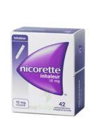 Nicorette Inhaleur 10 Mg Cartouche P Inh Bucc Inhalation Buccale B/42 à MULHOUSE