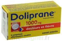 Doliprane 1000 Mg Comprimés Effervescents Sécables T/8 à MULHOUSE