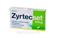 ZYRTECSET 10 mg, comprimé pelliculé sécable à MULHOUSE