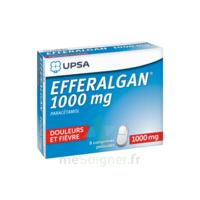 Efferalgan 1000 mg Comprimés pelliculés Plq/8 à MULHOUSE