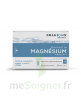 GRANIONS DE MAGNESIUM 3,82 mg/2 ml S buv 30Amp/2ml à MULHOUSE