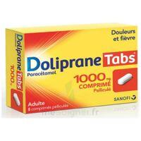 DOLIPRANETABS 1000 mg Comprimés pelliculés Plq/8 à MULHOUSE