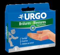 URGO BRULURES-BLESSURES PETIT FORMAT x 6 à MULHOUSE