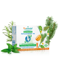 Puressentiel Respiratoire Pastilles Respiratoire Gorge Menthe-Pin - 18 pastilles à MULHOUSE