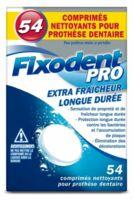 Fixodent Pro Comprimés Nettoyant Fraîcheur Longue Durée Pour Prothèse Dentaire B/54 à MULHOUSE