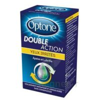 Optone Double Action Solution Oculaire Yeux Irrités Fl/10ml à MULHOUSE