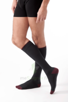 Sigvaris Styles Colors Chaussettes  Homme Classe 2 Noir Small Normal à MULHOUSE
