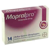 MOPRALPRO 20 mg Cpr gastro-rés Film/14 à MULHOUSE