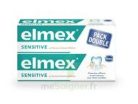 ELMEX SENSITIVE DENTIFRICE, tube 75 ml, pack 2 à MULHOUSE