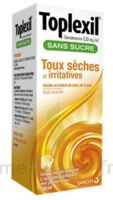 Toplexil 0,33 Mg/ml Sans Sucre Solution Buvable 150ml à MULHOUSE