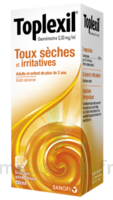 Toplexil 0,33 Mg/ml, Sirop 150ml à MULHOUSE