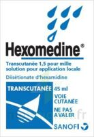 HEXOMEDINE TRANSCUTANEE 1,5 POUR MILLE, solution pour application locale à MULHOUSE