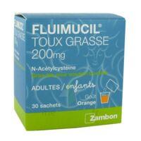 Fluimucil Expectorant Acetylcysteine 200 Mg Sans Sucre, Granulés Pour Solution Buvable En Sachet édulcorés à L'aspartam Et Au Sorbitol à MULHOUSE
