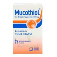 Mucothiol 200 Mg Cpr Pell Fl/20 à MULHOUSE