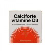 Calciforte Vitamine D3, Comprimé Plq/60cp à MULHOUSE