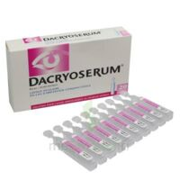 DACRYOSERUM Solution pour lavage ophtalmique en récipient unidose 20Unidoses/5ml à MULHOUSE