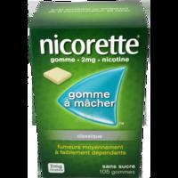Nicorette 2 Mg Gom à Mâcher Médic Sans Sucre Menthe Fraîche Plq/105gom à MULHOUSE
