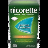 Nicorette 2 Mg Gomme à Mâcher Médicamenteuse Sans Sucre Fruits Plq/30 à MULHOUSE