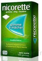 Nicorette 2 Mg Gom à Mâcher Médic Sans Sucre Menthe Fraîche Plq/30gom à MULHOUSE