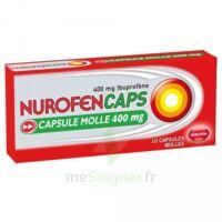Nurofencaps 400 Mg Caps Molle Plq/10 à MULHOUSE
