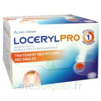 LOCERYL 5 % V ongles médicamenteux Fl/2,5ml+10 spatules à MULHOUSE