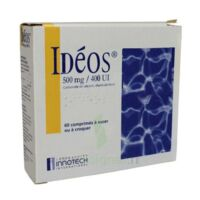 Ideos 500 Mg/400 Ui, Comprimé à Sucer Ou à Croquer à MULHOUSE