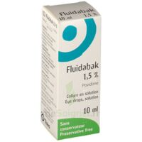 FLUIDABAK 1,5 %, collyre en solution à MULHOUSE