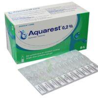 Aquarest 0,2 %, Gel Opthalmique En Récipient Unidose à MULHOUSE