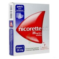 Nicoretteskin 25 mg/16 h Dispositif transdermique B/28 à MULHOUSE