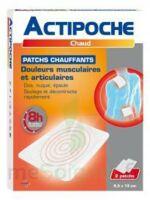 Actipoche Patch chauffant douleurs musculaires B/2 à MULHOUSE
