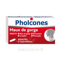 PHOLCONES BISMUTH ADULTES, suppositoire à MULHOUSE