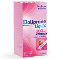 Dolipraneliquiz 300 mg Suspension buvable en sachet sans sucre édulcorée au maltitol liquide et au sorbitol B/12 à MULHOUSE