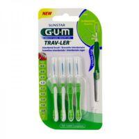 Gum Trav - Ler, 1,1 Mm, Manche Vert , Blister 4 à MULHOUSE