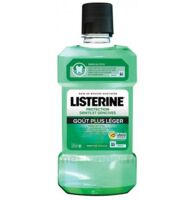 Listerine Protection Dents Gencives Bain Bouche Goût Plus Léger Fl/500ml