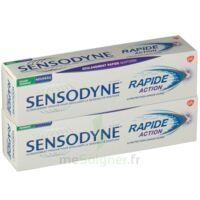 Sensodyne Rapide Pâte Dentifrice Dents Sensibles 2*75ml à MULHOUSE