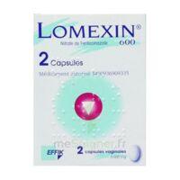 LOMEXIN 600 mg Caps molle vaginale Plq/2 à MULHOUSE
