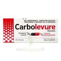 CARBOLEVURE Gélules adulte Plq/30 à MULHOUSE