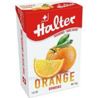 Halter Bonbon Sans Sucre Orange 40g à MULHOUSE