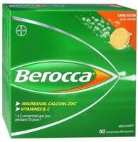 Berocca Comprimés effervescents sans sucre T/60 à MULHOUSE