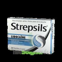 Strepsils lidocaïne Pastilles Plq/24 à MULHOUSE