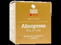 Absopress Bande Contention Cohésive 3m X 7cm – Chair à MULHOUSE
