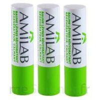 Amilab Baume labial réhydratant et calmant lot de 3 à MULHOUSE