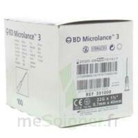 Bd Microlance 3, G22 1 1/2, 0,7 M X 40 Mm, Noir  à MULHOUSE