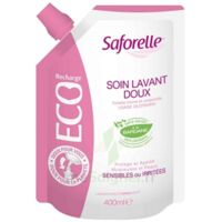 Saforelle Solution soin lavant doux Eco-recharge/400ml à MULHOUSE