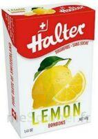 Halter Sans Sucre Bonbon Citron B/40g à MULHOUSE